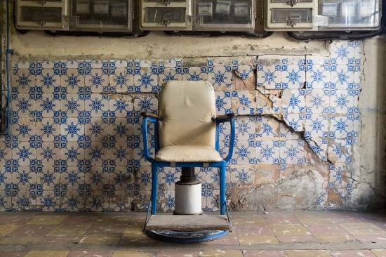 broken walls in havana, fine art