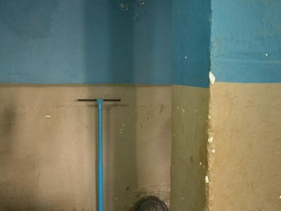 walls of a cuban gym in old havana