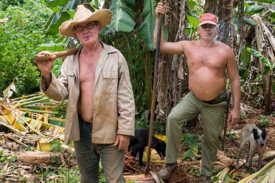 a couple of cuban farmers