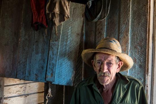 portrait of cuban farmer