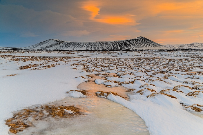 CRATER HVERFJALL-ICELAND