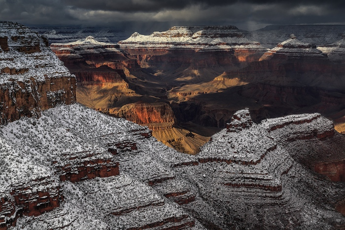Fran Rubia · WINTER-GRAND CANYON-USA