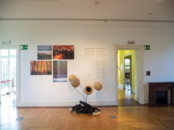 Cristina Enea en Donostia · Expresionismo abstracto