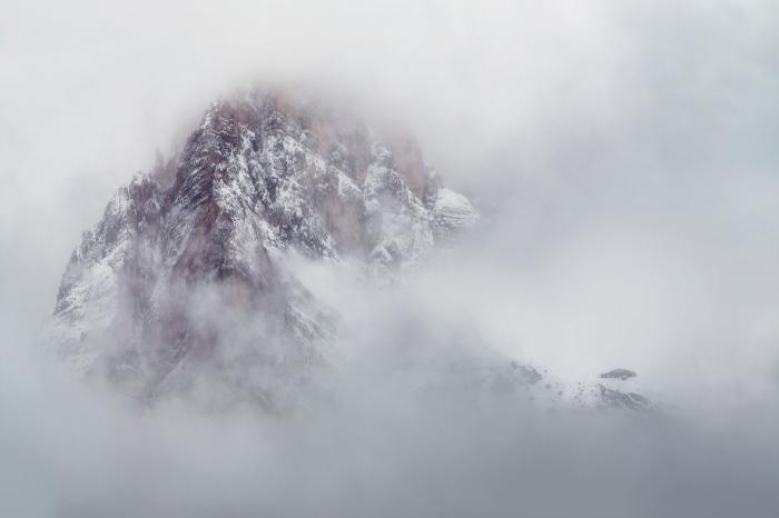 montaña, mountain, refugio, dolomitas, niebla, fog, Pixelecta