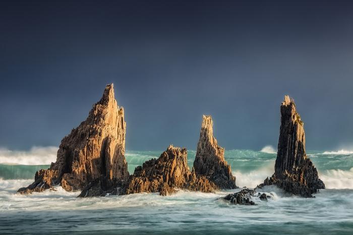 sea, mar, cantabrico, asturias, gueirua, tormenta, storm, pixelecta