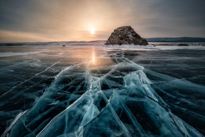 hielo, baikal, lago, lake, ice, blue, azul, rusia, pixelecta