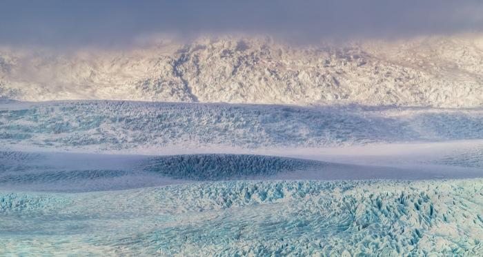 islandia, glaciar, Hielo, azul, blue, iceland, ice, niebla, fog, pixelecta