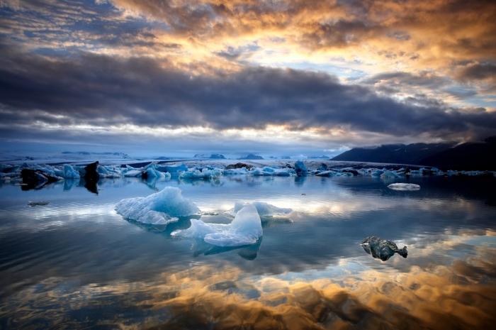 La laguna de los Icebergs. Islandia