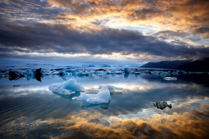 Roberto Iván Cano · La laguna de los Icebergs. Islandia