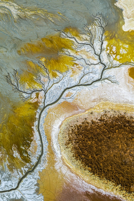 Artistic Water Erosion