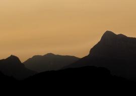 Peña la Montañesa, Ordesa, amanecer