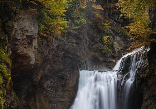 Cascada de Arripas, Ordesa, Otoño