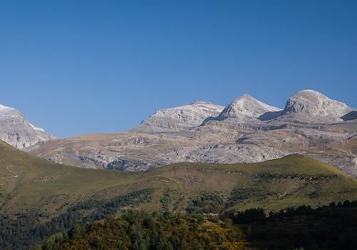 Las tres sorores, monte perdido, parque nacional de Ordesa