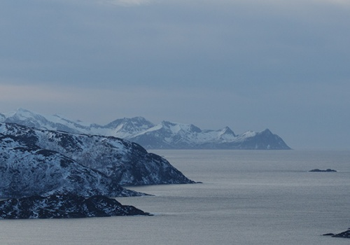 Rekvikvegen, Tromvik, Noruega