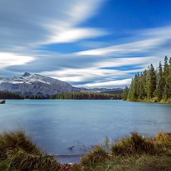 landscape, Canada, fall, Banff national park, Alberta,