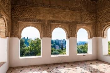 Ventanas de Palacio de Generalife