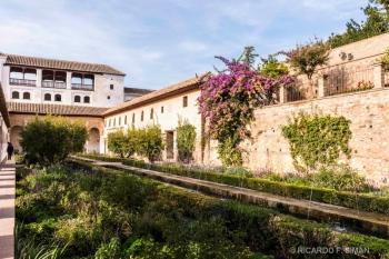 Jardines de Alhambra de Granada