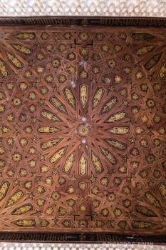 Patrón  árabe en techo Palacio de Comares
