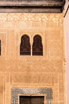Ventanales Fachada de Palacio de Colmenares