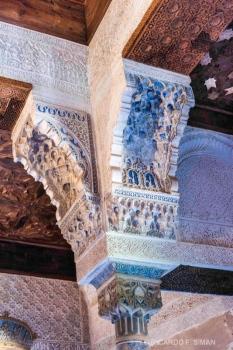 Columnas Sala del Mexuar