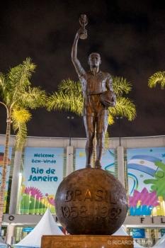 Estatua de Bellini, entrada Estadio Maracana