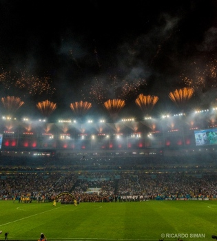 Celebracion Copa Mundial Alemania Campeon