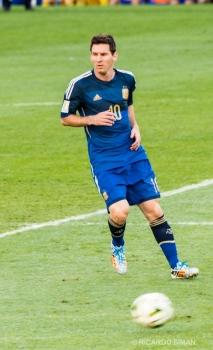 Leo Messi en al Final del Mundial FIFA 2014