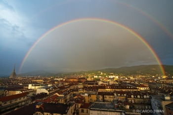 Panorámica Ciudad de Turín