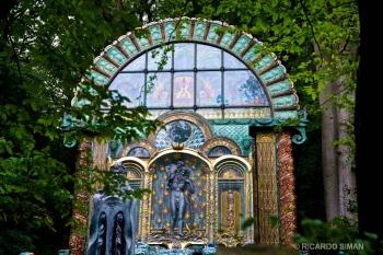 El Pabellon en la Villa de Otto Wagner, Viena