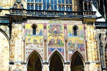 Mosaico del Juicio Final, Catedral de San Vito