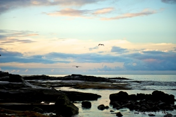 Ocaso en Islas Galápagos