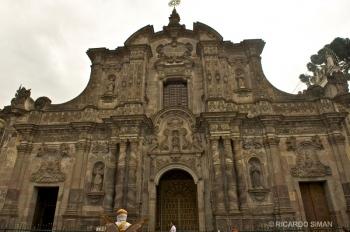 Iglesia de la Compañia de Jesus, Quito