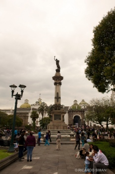 Plaza Independencia, Quito Ecuador