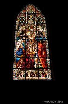 Vitrales de Basílica del Voto Nacional