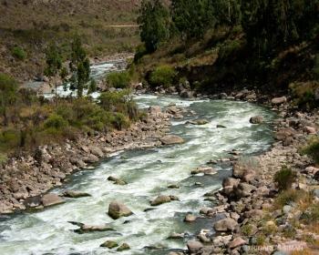 Río Uruamba, Valle Sagrado, Perú.