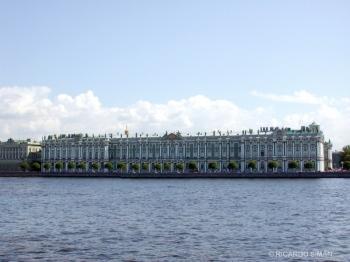 Palacio del Hermitage, St. Pettesburgo, Rusia.