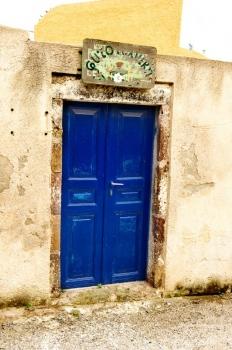 Arquitectura en Santorini