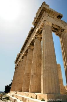 El Partenón, Atenas, Grecia.