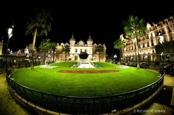 Parque central de Mónaco.