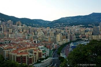 Ciudad de Mónaco y ruta del Grand Prix
