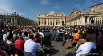 Misa por Beatificacion de Juan Pablo II