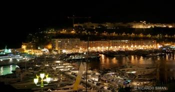 Atracadero de yates en Mónaco.