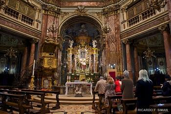 Altar Santurario de La Virgen de Consolata, Turin
