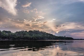 DSC_5731 Atardecer en el Amazonas,Brasil