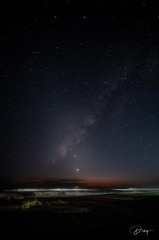 Via lactea desde La Costa del Sol