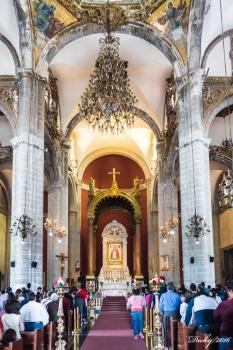 Altar Templo Expiatorio a Cristo Rey