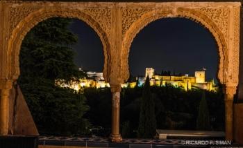 Vista de La Alhambra desde Jardines Generalife