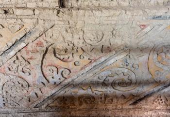 DSC_9970 Mural policromo con diseños del pez raya o matarraya