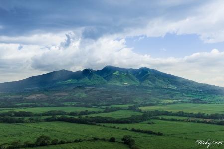 La Mujer Dormida, Cerro de Guazapa