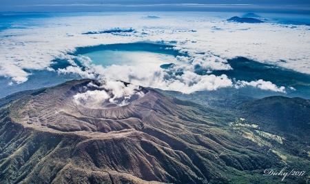 Volcan de Santa Ana, Lago de Coatepeque